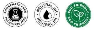Badge Phosphate, Neutral n Eco Friendly LePack